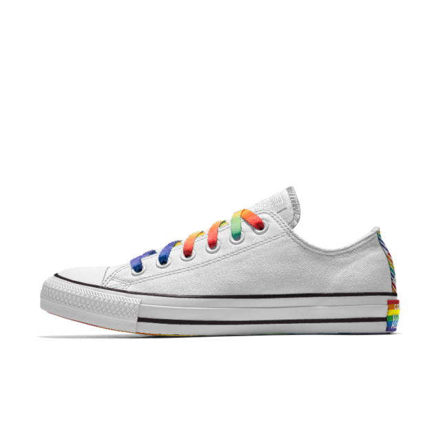 7a9895e90e6f3f Miley Cyrus Teamed Up With Converse on a New Pride Collection