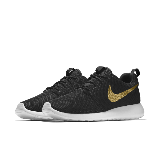 new arrivals b51cc 0dbf0 Male Nike Roshe Two Midnight Navy Black Sail Volt Casual Shoes