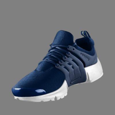 Nike Air Presto Schwarz Blau