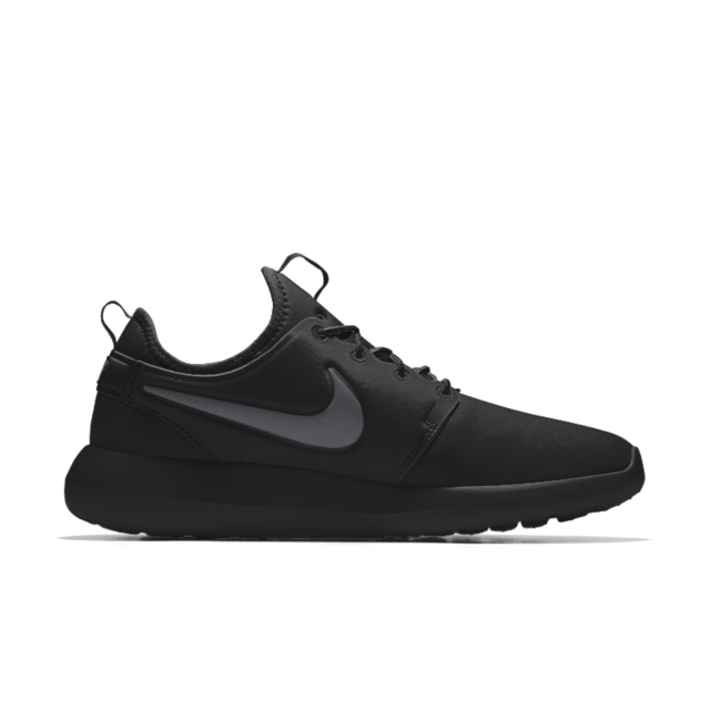 Nike Roshe Two Big Kids 844653 001 Black Athletic Shoes