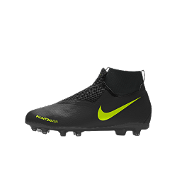 Chaussure de football à crampons personnalisable Nike Jr. Phantom Vision Academy By You