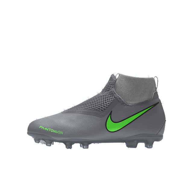 Calzado de fútbol personalizado Nike Jr. Phantom Vision Academy By You