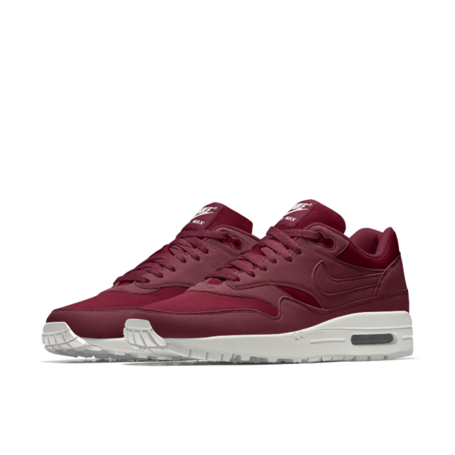 nike air max 1 essential burgundy