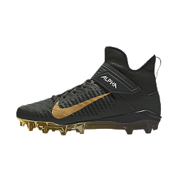 Nike Alpha Menace Pro 2 Mid By You Custom American Football Boot