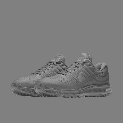 Nike Air Max 2017 Id Mens Blanc