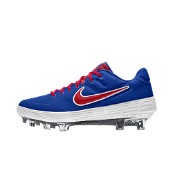 Nike Alpha Huarache Elite Low Premium By You Custom Baseball Boot