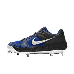 Calzado de béisbol personalizado Nike Alpha Huarache Elite Low Premium By You