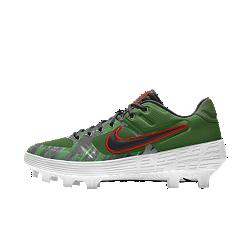 Nike Alpha Huarache Elite Low Premium By You Custom Baseball Boot