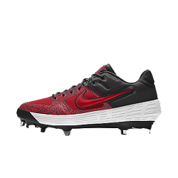 Chaussure de baseball à crampons personnalisable Nike Alpha Huarache Elite Low Premium By You