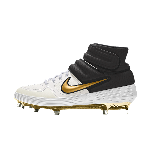 another chance d40af 1d525 Nike Alpha Huarache Elite Mid Premium By You Baseball Cleat