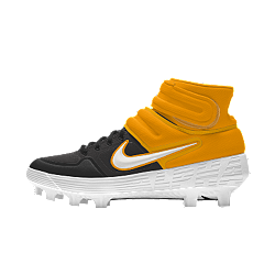 Chaussure de baseball à crampons Nike Alpha Huarache Mid By You
