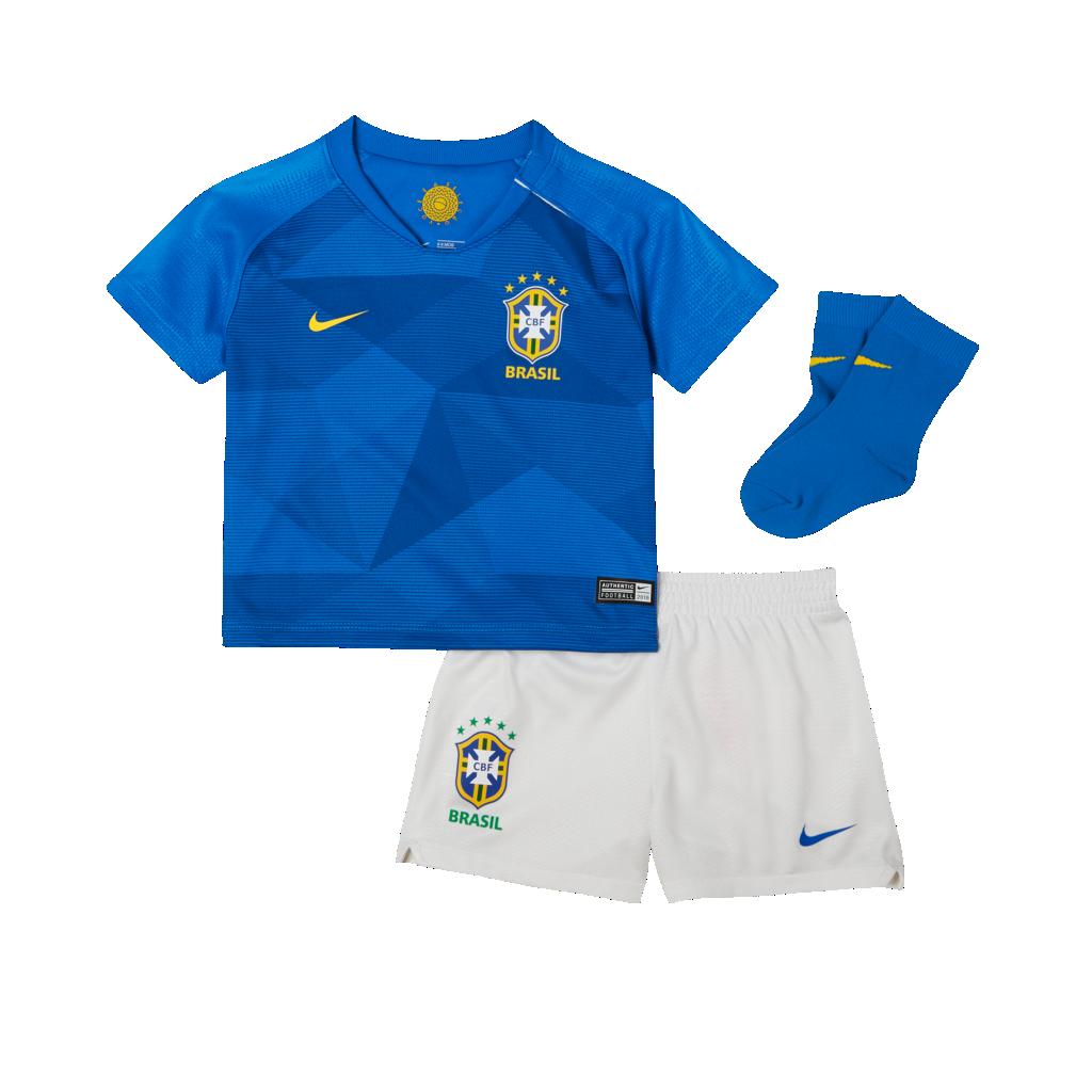 15b5747aae 2018 Brasil CBF Stadium Away Equipación de fútbol - Bebé e infantil ...