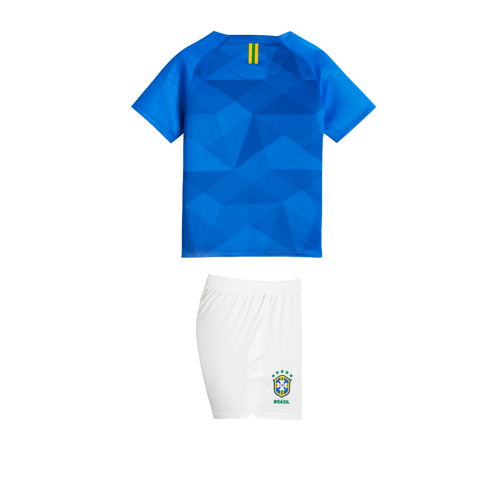 bb173f9ca2 2018 Brazil CBF Stadium Away Younger Kids  Football Kit. Nike.com UK