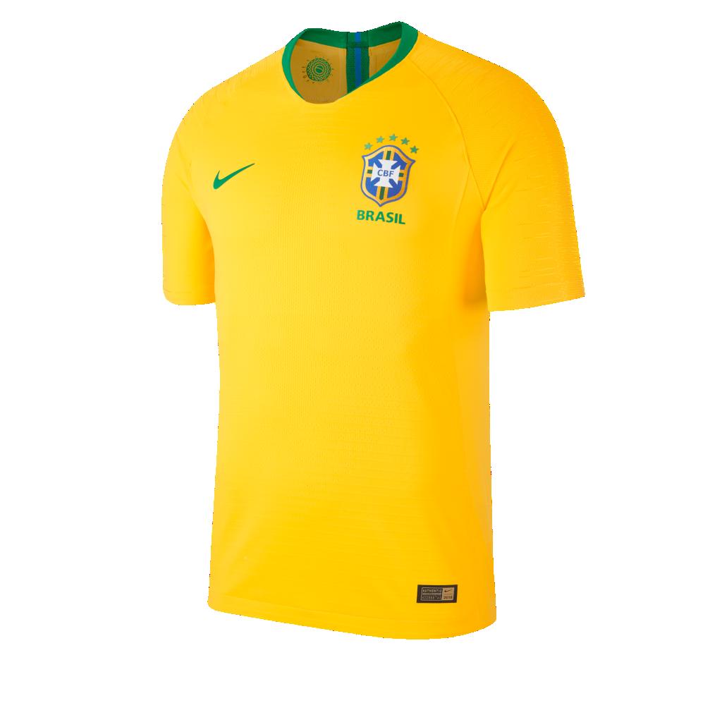 7e66caa650a693 2018 Brazil CBF Stadium Home Men s Football Shirt. Nike.com NL