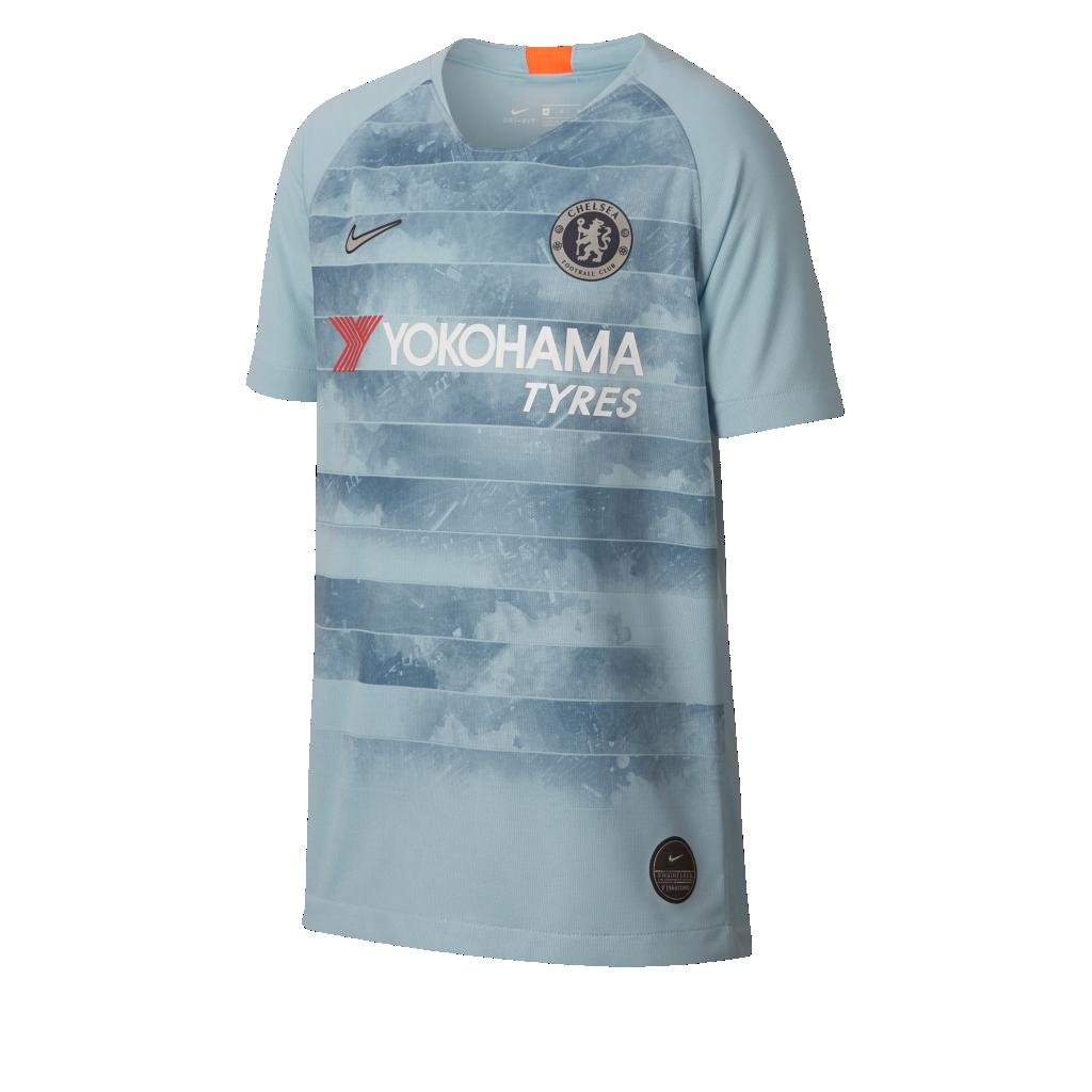 2018 19 Chelsea FC Stadium Third Camiseta de fútbol - Niño a. Nike ... 79cbb62c41556