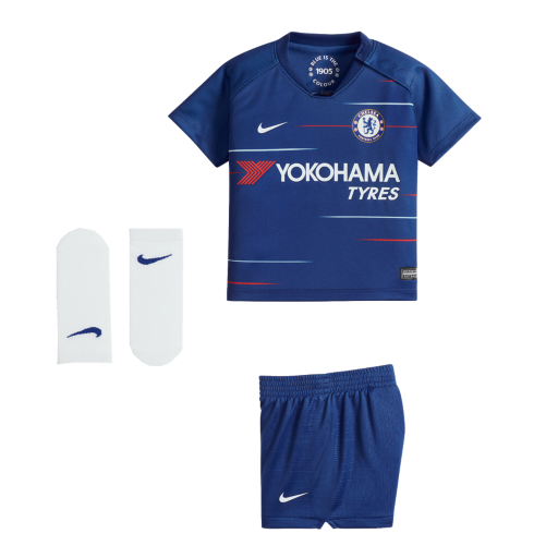 2018 19 Chelsea FC Stadium Home Baby   Toddler Football Kit. Nike.com UK ddf873d03