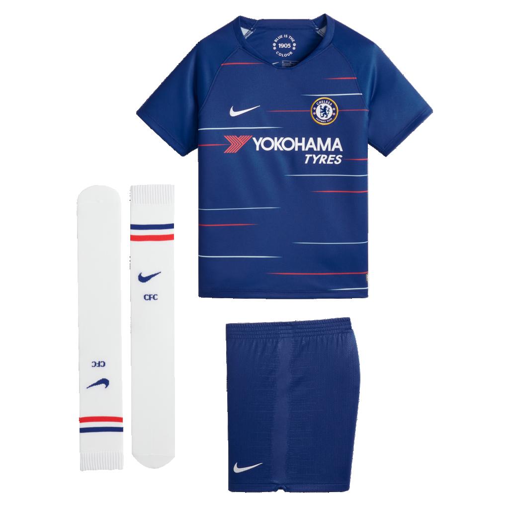 2018/19 Chelsea FC Stadium Home. Older Kids' Football Kit65 €
