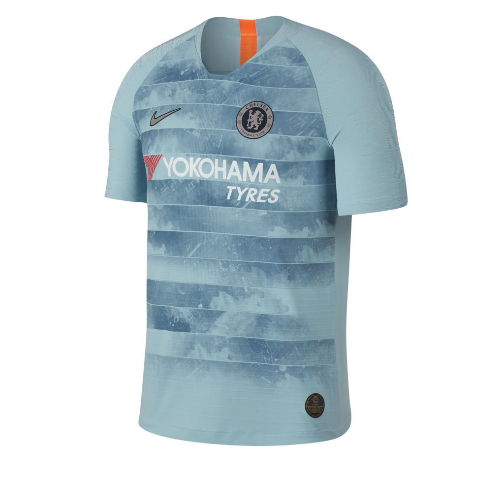 2018 19 Chelsea FC Vapor Match Third. Camiseta Connected de fútbol ... 4381a3df2b7