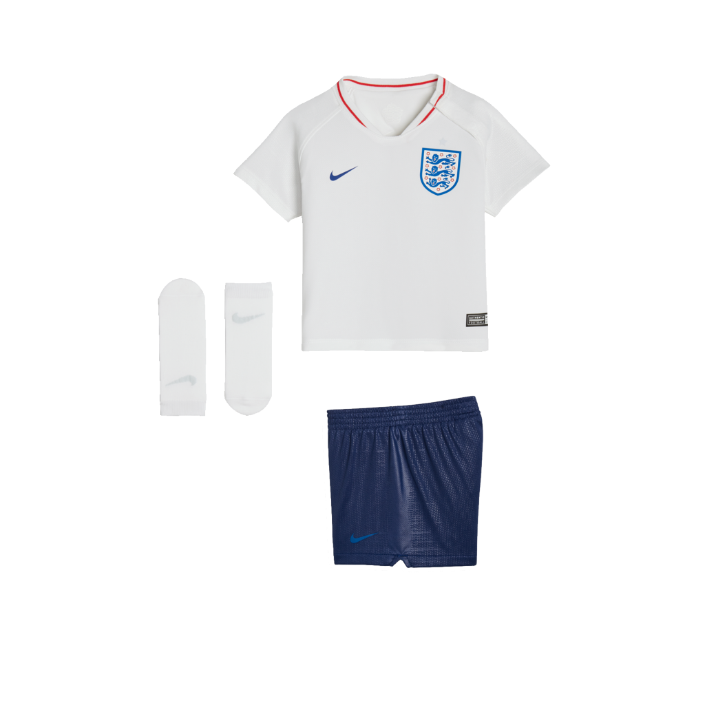 2eea5f4f5604 2018 England Stadium Home Baby   Toddler Football Kit. Nike.com UK