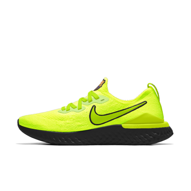 69057c59781b3 Nike Epic React Flyknit 2 FCB By You Custom Running Shoe. Nike.com