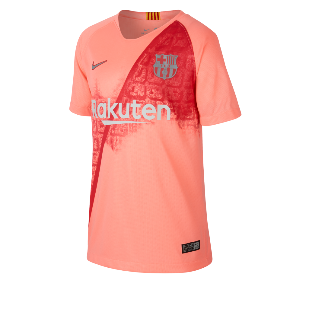 e7c653f99 2018 19 FC Barcelona Stadium Third Older Kids  Football Shirt. Nike ...