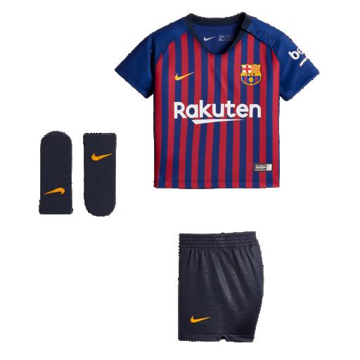 2018 19 FC Barcelona Stadium Home Equipación de fútbol - Bebé. Nike ... 062a0b5b1b850