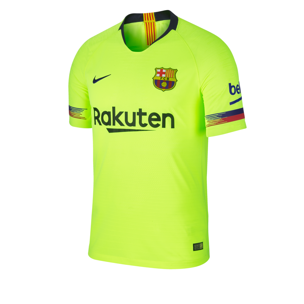 db51bb22957 2018 19 FC Barcelona Vapor Match Away Men s Football Shirt. Nike.com IE