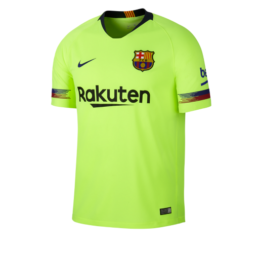 3c63b8a4a7 Camisola de futebol 2018 19 FC Barcelona Stadium Away para homem ...