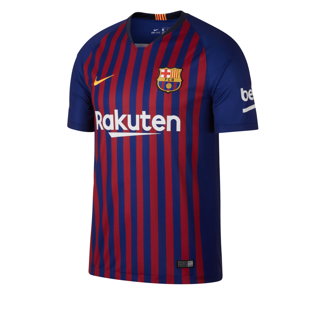 f989b498302e 2018 19 FC Barcelona Stadium Home Men s Football Shirt. Nike.com UK