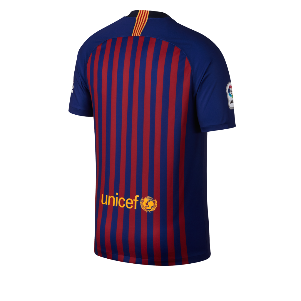 b743f473f3d7 2018 19 FC Barcelona Stadium Home Men s Football Shirt. Nike.com UK