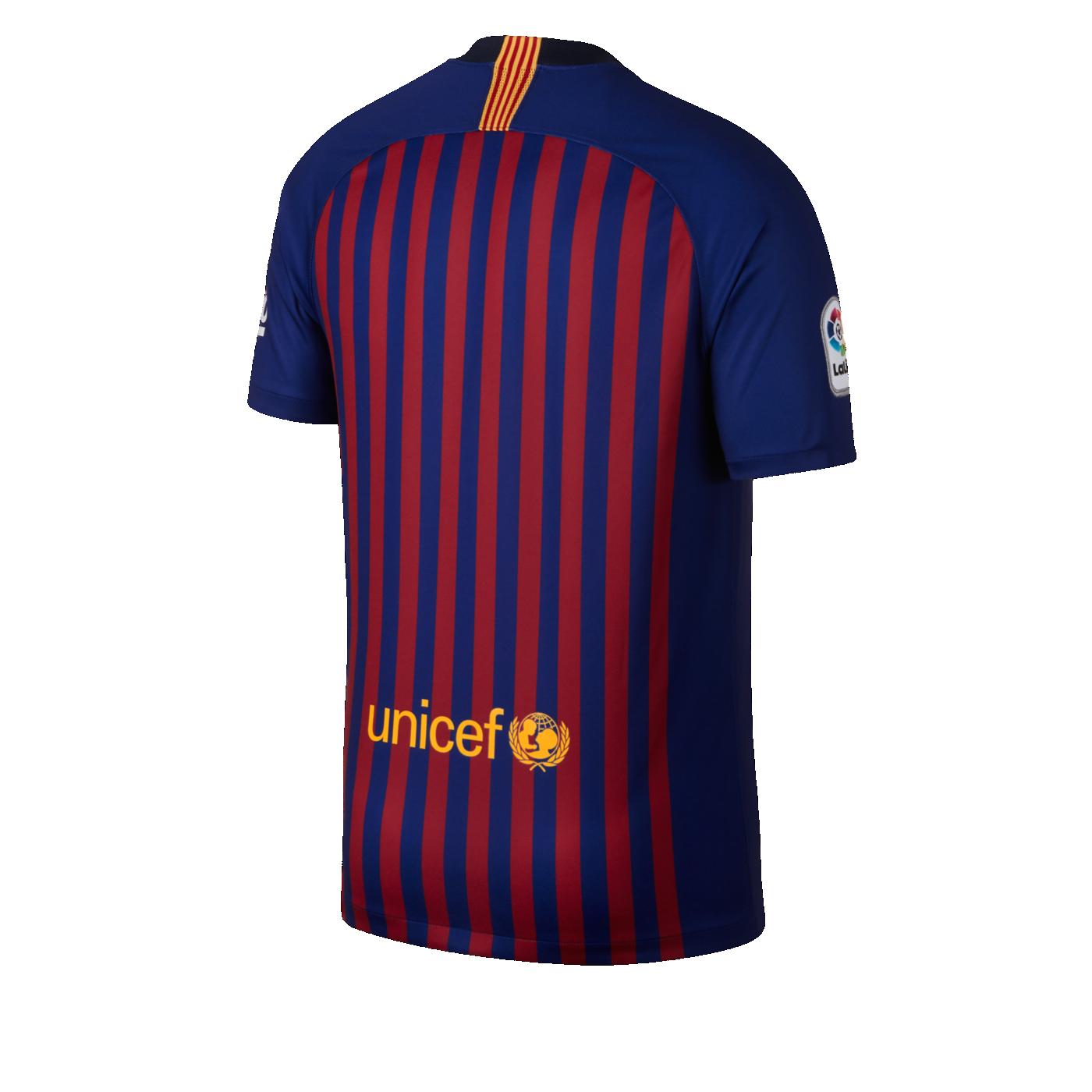 2018 19 FC Barcelona Stadium Home Men s Football Shirt. Nike.com UK b640cb40e1