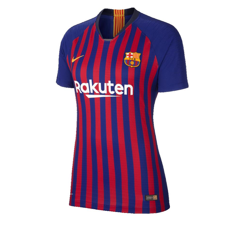 2018 19 FC Barcelona Vapor Match Home Camiseta de fútbol - Mujer ... b07e3ebeb51d9