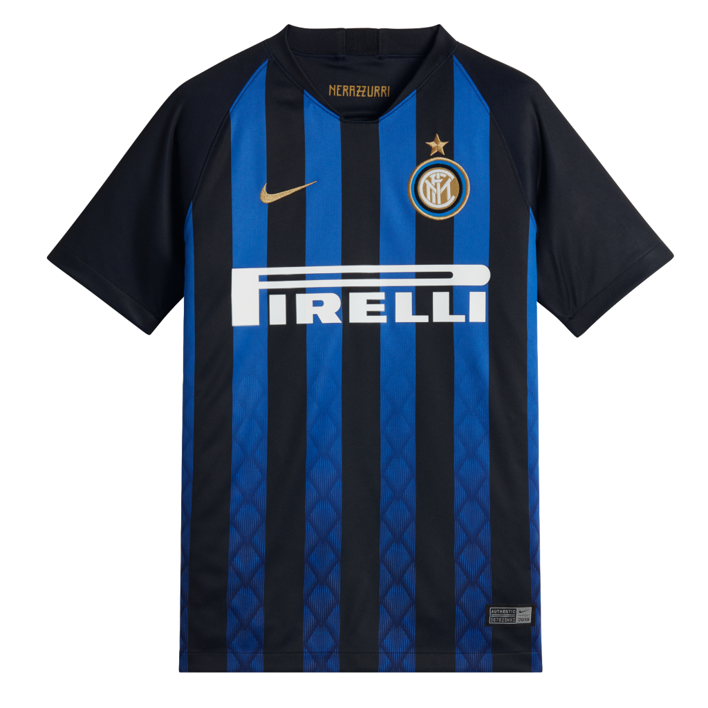 8a4322489 2018/19 Inter Milan Stadium Home Older Kids' Football Shirt. Nike.com NL