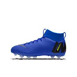 รองเท้าสตั๊ดฟุตบอลเด็กสำหรับพื้นหลายประเภทออกแบบเอง Nike Jr. Mercurial Superfly VI Academy By You