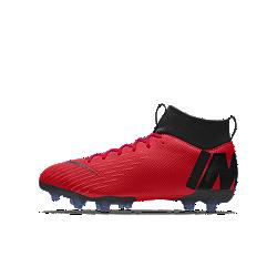Nike Jr. Mercurial Superfly VI Academy By You personalisierbarer Kinder-Fußballschuh für verschiedene Böden
