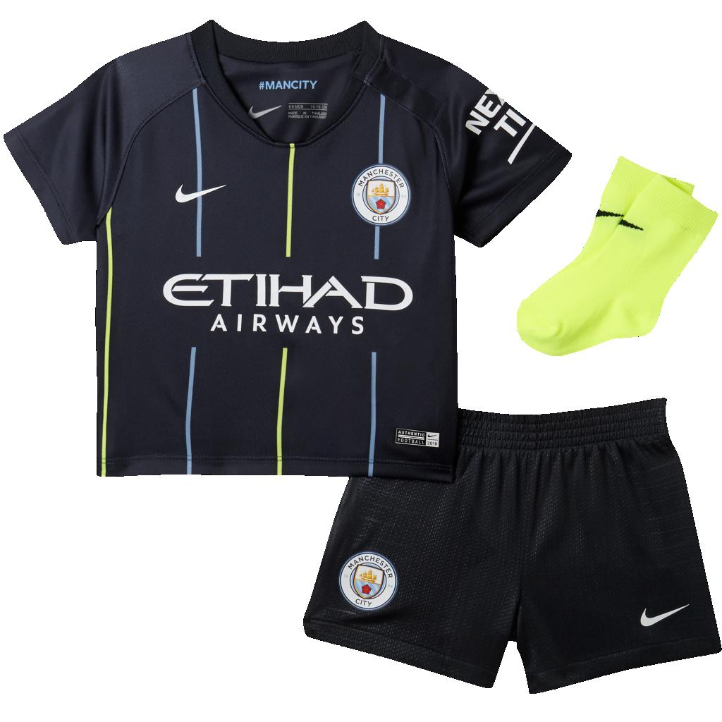 fec87e19d 2018 19 Manchester City FC Stadium Away Baby and Toddler Football ...