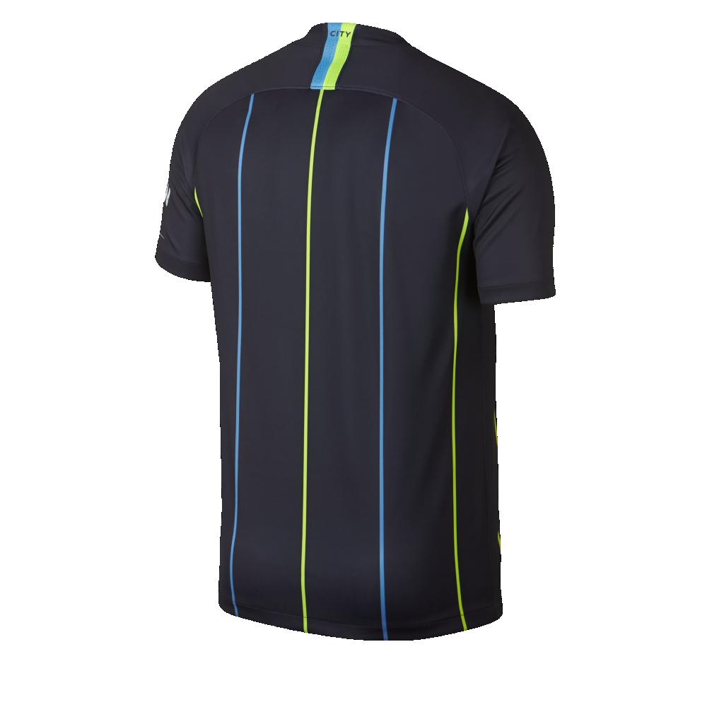 8376a4a962f 2018 19 Manchester City FC Stadium Away Men s Football Shirt. Nike ...