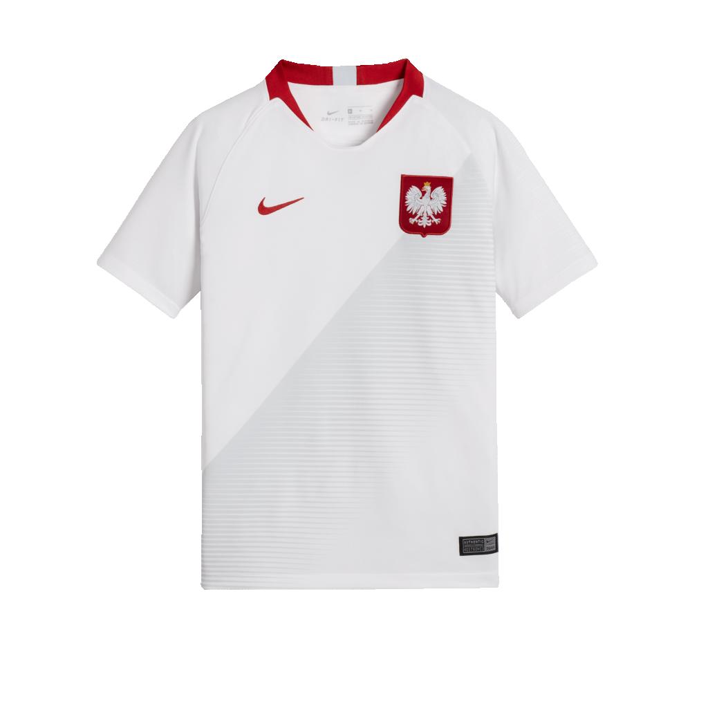 0f46a5a3e94 2018 Poland Stadium Home Older Kids  Football Shirt. Nike.com UK