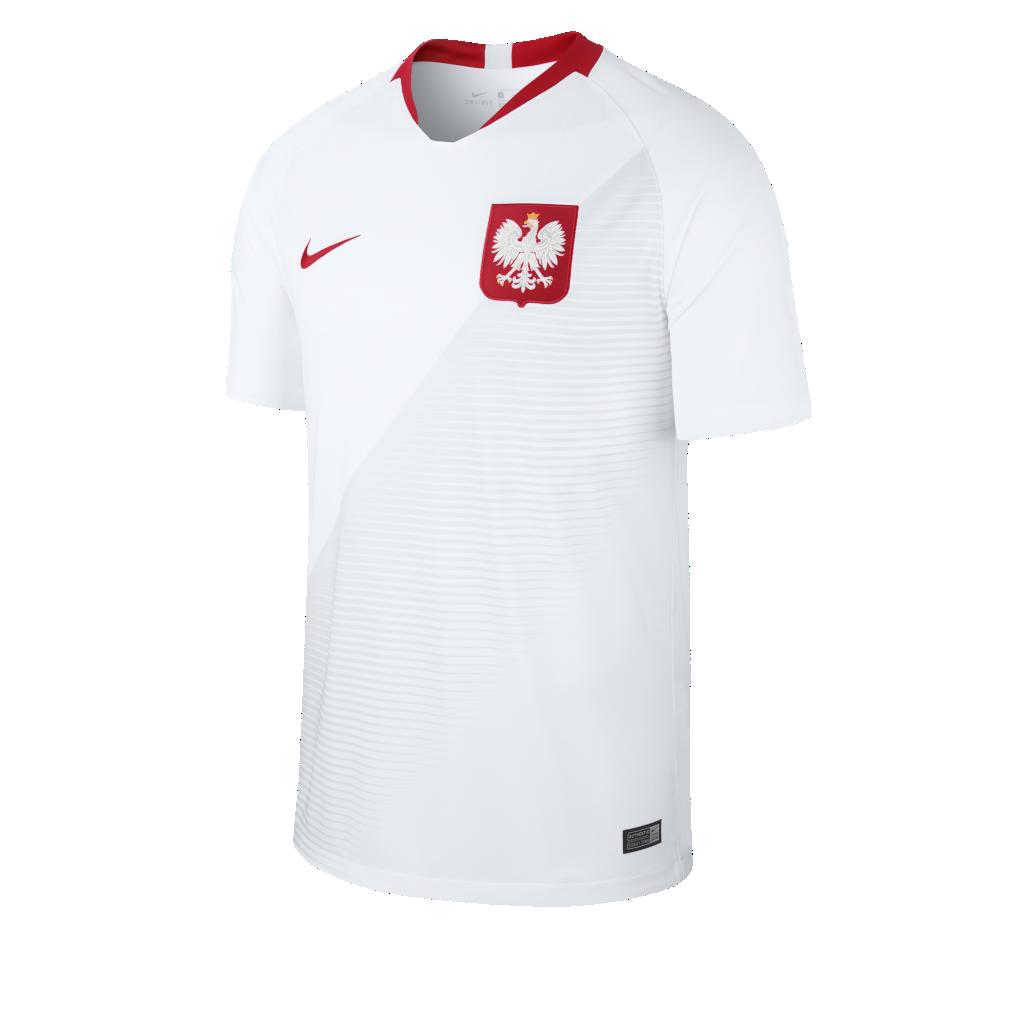 a64424fca6e 2018 Poland Stadium Home Men s Football Shirt. Nike.com UK