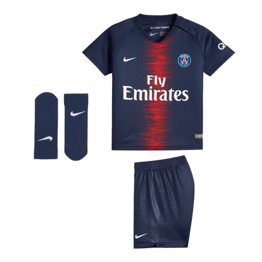 9c8d79c735a 2018 19 Paris Saint-Germain Stadium Home Baby Football Kit. Nike.com UK