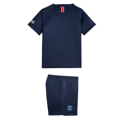 2018 19 Paris Saint-Germain Stadium Home. Younger Kids  Football Kit£44.95 7046bd37f
