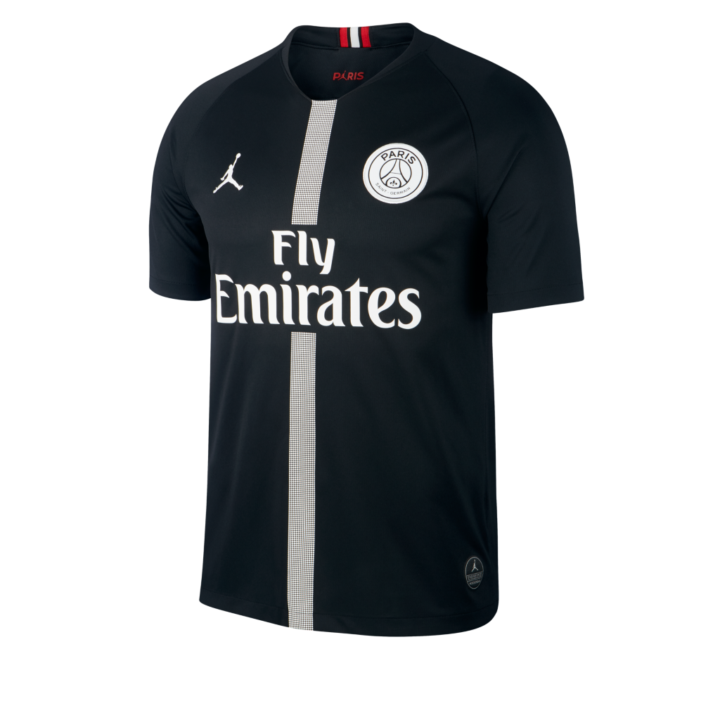 cf15a6d720b39d 2018 19 Paris Saint-Germain Stadium Third Men s Football Shirt. Nike ...