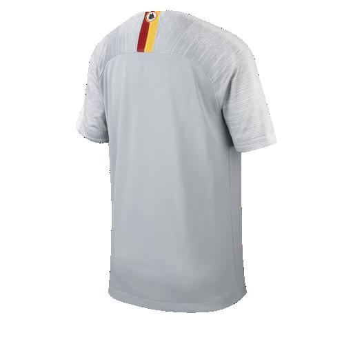 2018 19 AS Roma Stadium Away Older Kids  Football Shirt. Nike.com UK 9a6f93baf