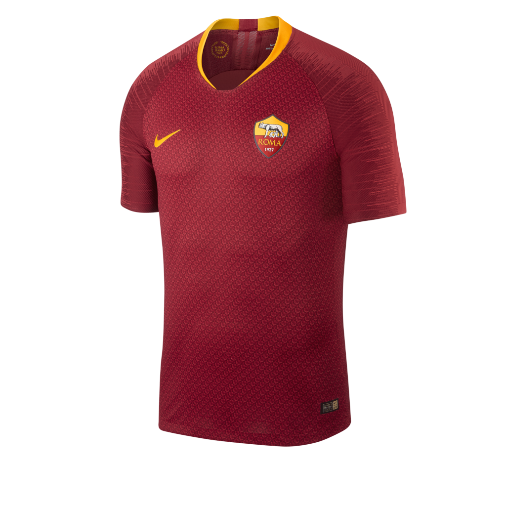 41c7394d2 2018 19 A.S. Roma Vapor Match Home Men s Football Shirt. Nike.com AT