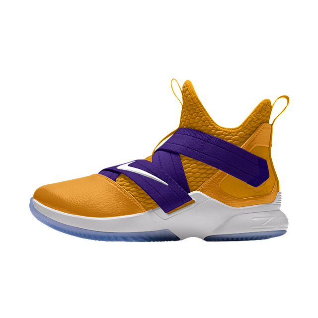 492bde69e910d SHARE YOUR DESIGN. LeBron Soldier XII By You Custom Basketball Shoe