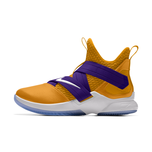 8500a1c5c3cb2 LeBron Soldier XII By You Basketball Shoe. Nike.com