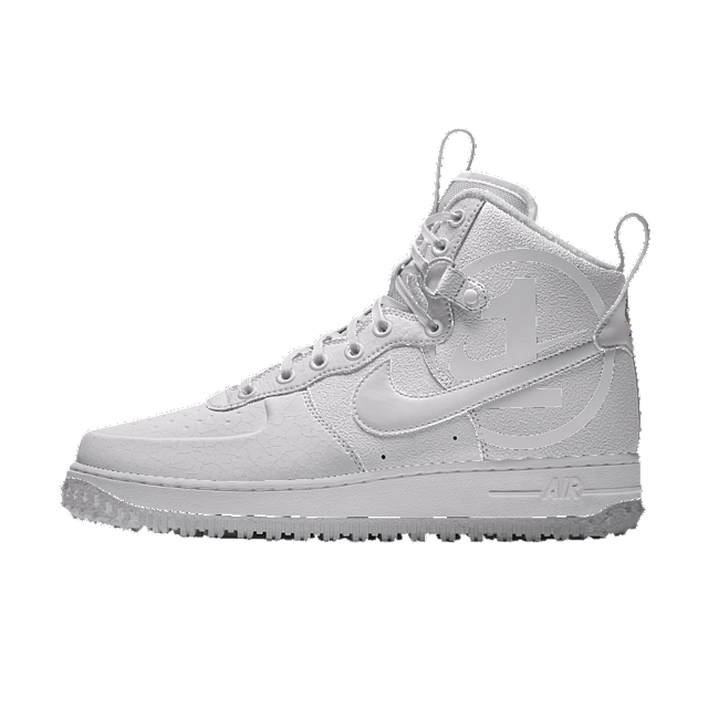 size 7 official supplier online retailer Nike Air Force 1 High iD Winter White Shoe