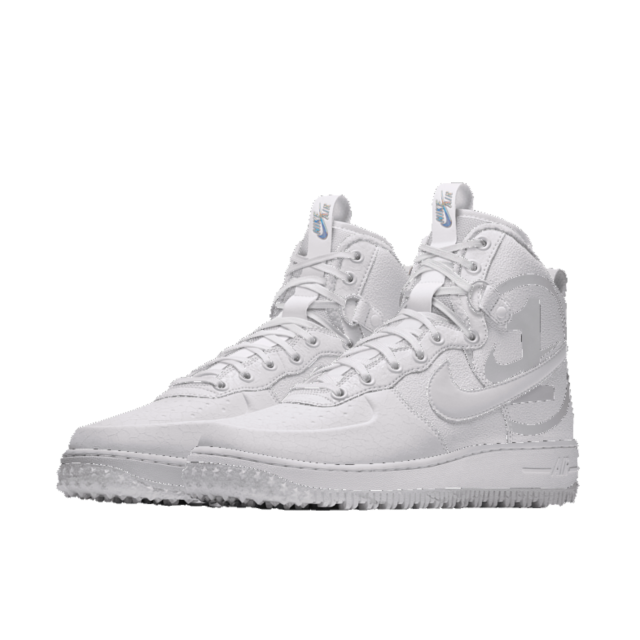 best loved 5eca7 f3928 Nike Air Force 1 High iD Winter White Shoe. Nike.com IE