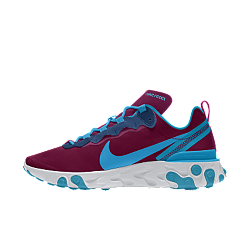Chaussure personnalisable Nike React Element 55 By You
