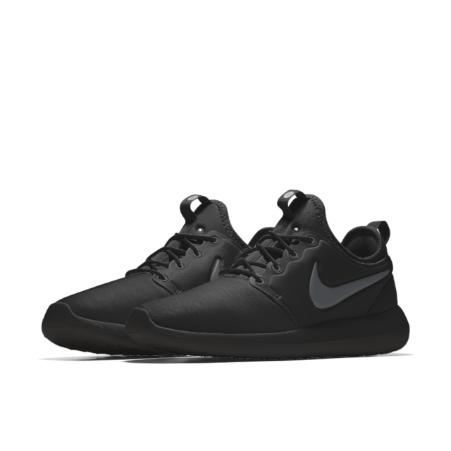 nike roshe two premium leather trainers